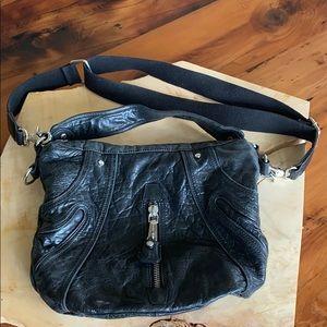 L.A.M.B. leather crossbody/hobo bag